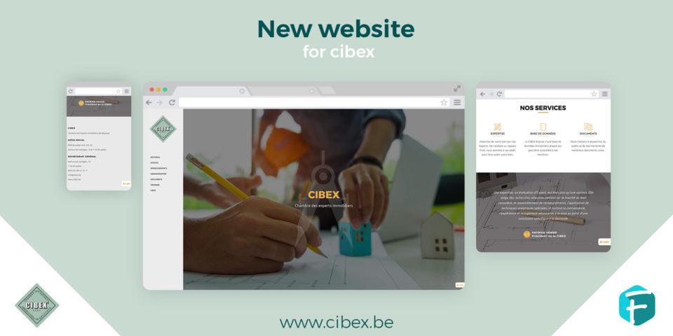 Cibex - Site Internet par Fidelo Web Agency